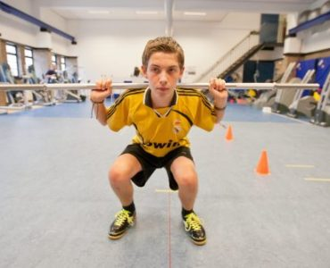 Sportoefeningen fysio